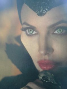 Maleficent.  Evil can appear beautiful. Beware.