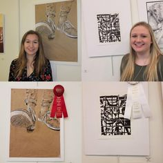Congrats to Lily Reed for taking second place and Meghan Pressley for honorable mention in the Gaston County Art Guild Senior Student Art Competition!