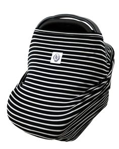 Classic Black&White Stripe OVer — the OVer company Multi-use baby cover infant car seat cover nursing cover shopping cart cover stroller cover high chair cover Highchair Cover, Stroller Cover, Black White Stripes, Black And White, Shopping Cart Cover, Baby Cover, Baby Car Seats, Feb 2017, Baby Registry