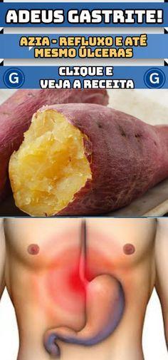 Resultado de imagem para como preparar a batata doce para gastrite e refluxo Natural Health, Natural Remedies, Healthy Life, Health Tips, Herbalism, The Cure, Vegan Recipes, Food And Drink, Health Fitness