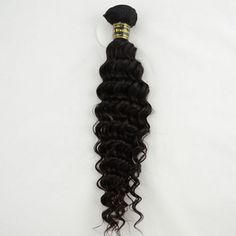12 Inch - 26 Inch Curly Virgin Brazilian Remy Hair Weave Natural Black