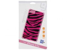 Capa Protetora Zebra para iPhone 5 e 5S - Geonav com as melhores condições você encontra no Magazine Asmcontato22. Confira!
