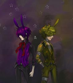 Bonnie and springtrap