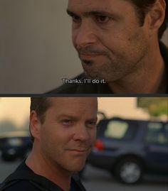Tony Almeida and Jack Bauer; Season 4 TONY! You were so close to a smile!