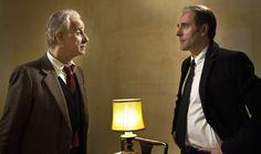 Toni Servillo e Valerio Mastandrea in una scena del Film.#vivalalibertà#movie#film#politica#toniservillo.