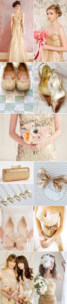 Praise Wedding » Wedding Inspiration and Planning » Timeless Gold Weddings