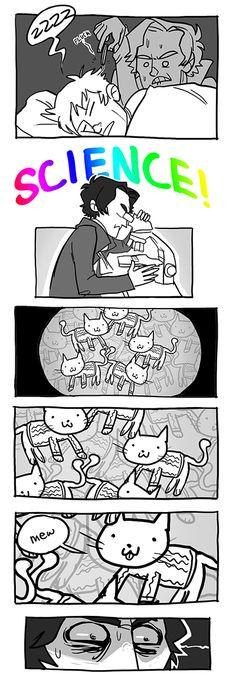 John is made of kittens.