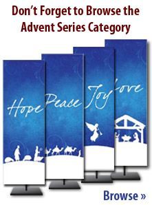 Advent banners