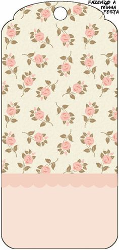 . Printable Labels, Printable Paper, Party Printables, Decoupage, Floral Rosa, Diy And Crafts, Paper Crafts, Shabby Chic Crafts, Paper Tags