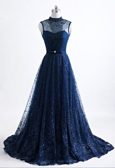 The Blue Evening Dress Open-air Party Formal Dress! Sleeveless Veils A Party Dress Cute Prom Dresses, Tulle Prom Dress, Dresses For Teens, Pretty Dresses, Bridal Dresses, Party Dress, Formal Dresses, Elegant Dresses, Blue Evening Dresses