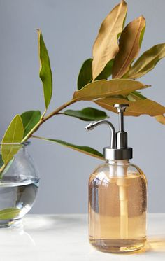 With a beautiful cloche bell shape, this glass soap dispenser  features an Stainless Steel pump equally as stylish ; designed to mix and match with any color scheme or style. Soap Dispensers   RAIL19