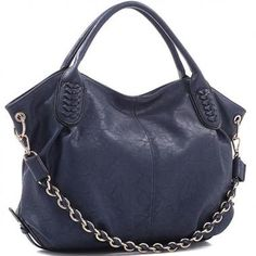 """Are you looking for the best quality concealed carry handbags? Then you must visit Freedomm.co and buy Concealed Carry Faux Leather Chain Hobo Bag at low price. It's features includes- Approx Size : 19""""L x 6""""W x11.5""""H Top Zipper Closure Detachable Gold-Tone Shoulder Chain Two Interior Open Top Pouches and One Back Zipper"""