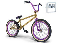 Gold purple bmx... Sooo dope