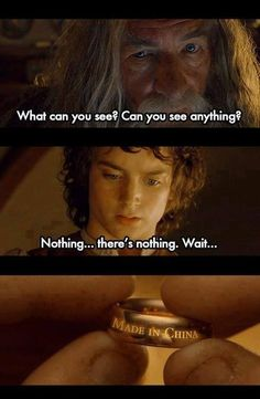 Funny lord of the rings meme - http://www.jokideo.com/