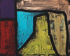 Artist : Jeff Lowe Title : Untitled 1 Media : Original - Acrylic on Paper Size : 36 x 45cm Price : www.ArtCatto.com