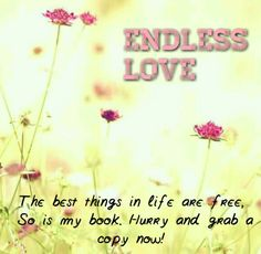 The book Endless Love is now free! Grab a copy now at http://goo.gl/XDPU5W