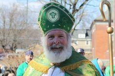 St. Patrick in Binghamton, NY         (St. Patty's Day Parade, 2012)