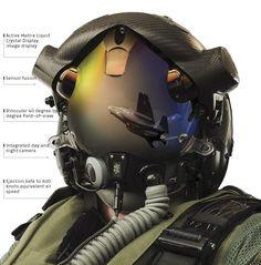 F-35 Helmet Mounted Display System - F-35 Lightning II - Wikipedia