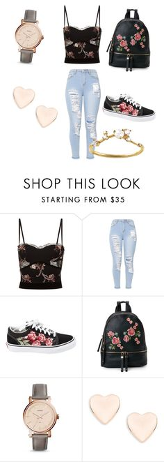 """""""Saturday outfit"""" by diazgirl-1 ❤ liked on Polyvore featuring La Perla, Vans, Urban Expressions, FOSSIL, Ted Baker and WWAKE"""
