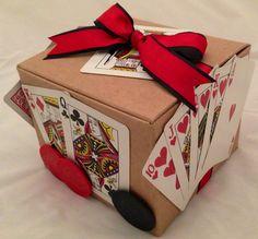 Poker Themed Gift Wrap I made :)