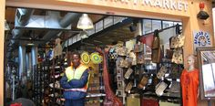 Visit Rosebank African Craft Market for authentic souvenirs – South African Tourism African Crafts, Craft Markets, Handicraft, Tourism, Marketing, Decor, Projects, Africa, Craft