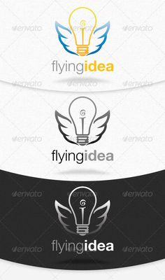 Flying Idea Logo Template #GraphicRiver This time we bring to you an idea logo. This logo template can be used for websites, agencies, consulting firms, etc. Logo is made with vectors for easy resizing and customizing – all texts can be rewritten even You can change the font or color. Changing all colors is as easy as one click to fill color in color palette. This template is corporate, institutional and more creative. Hope you enjoy it! Features 1x Psd File 3000×3000 px & Resizable 300 dpi…