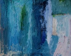 Abstract Art, Original Oil painting, oil on canvas, 9 x 12 inches by Romany Steele. The Best of Days