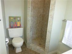 bathroom design highlights: stand up shower, backsplash