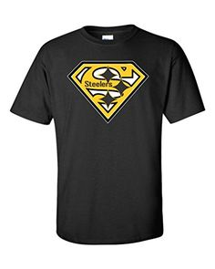 cool SteelersLocal Imprint Men's Pittsburgh Steelers Diamond T-Shirt L BLACK (J20)