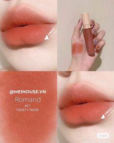 Makeup Kit, Lip Makeup, Makeup Cosmetics, Beauty Makeup, Korean Makeup Tips, Asian Makeup, Kawaii Makeup, Cute Makeup, Lipstick Colors