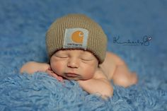 Definitely doing a newborn carhartt photo - http://www.kimberlygphotography.com