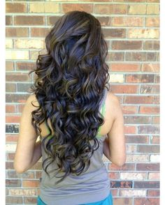 Glamorous Digital Perm for Long Locks