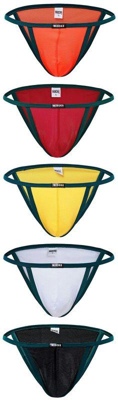 CHICTRY Mens Ultra Thin Ice Silk Smooth Underwear Breathable Triangle Bikini Briefs Swimwear