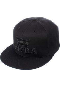 Supra Above-Snapback, Cap, black-black Titus Titus Skateshop #Cap #AccessoriesMale #titus #titusskateshop