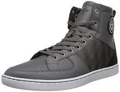 Creative Recreation Men's Solano Fashion Sneaker,Grey/White,13 M US
