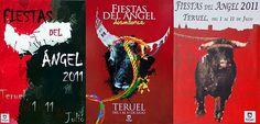 Cartel finalistas Fiestas del Ángel 2011