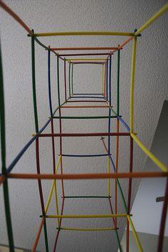 straw tower
