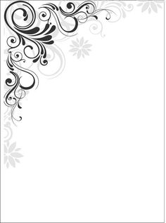 card border design drawing luxury japanese border designs cliparts co outline of card border design drawing Page Borders Design, Border Design, Swirl Design, Borders For Paper, Borders And Frames, Goodnotes 4, Molduras Vintage, Gallery Wall Layout, Frame Template