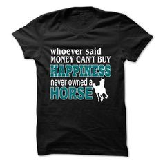 "Money can buy horse. Cute vintage T-shirts ""Funny Horses"". Every day, new awesome projects with cool design. In stock: - T-Shirts, Hoodies & Sweatshirts, Long Sleeve Tees, Tank Tops. - 100% Cotton. Comfortable, top quality apparel. - High-quality products from SunFrog. SunFrog products are printed in the U.S.A. on authentic high-quality garments and satisfaction is 100% guaranteed. Shop The Look: https://www.sunfrog.com/iBruster/horse"