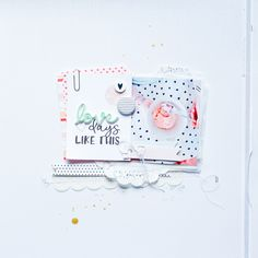 Love Days Like This layout by Suse Fish Scrapbook Page Layouts, Scrapbook Pages, Mini Albums, Cactus Rose, Diy Paper, Paper Crafts, Mixed Media Scrapbooking, Scrapbooking Ideas, Days Like This