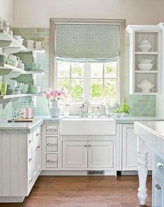 20 Shabby Chic Kitchen Designs For Small Spaces