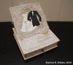 Staffelikommode til brudepar