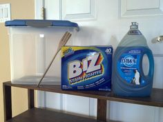 formula/spit up stain remover- 1/4 Dawn (Original Blue) & 1/4 Powdered Clorox 2 Bleach