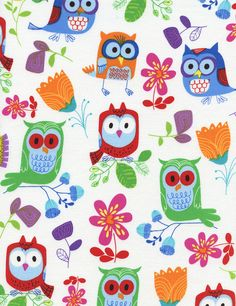 MORE Owls! - Timeless Treasures