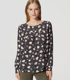 Image of Floral Fresco Blouse