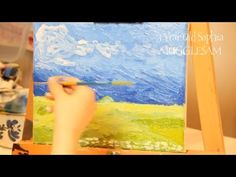 Van Gogh Art For Kids - How to Paint Like Van Gogh and Reading His Letter  | Funny Kids Talk Art