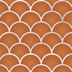 Moroccan Scallops Furniture Stencil