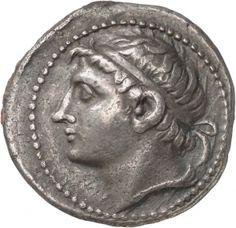 Tetradracma - argento - Sparta, Laconia, Grecia (227-217 a.C.) - Cleomene/Kleomenes III di profilo vs.sn.- Münzkabinett Berlin