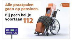 Gisteren lanceerde de Vlaamse overheid een campagne die het einde moest inluiden…