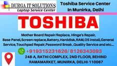 Call 43093 / Toshiba laptop service center in Munirka, Delhi will repair all types of Toshiba laptop and we have available all Toshiba parts Laptop Repair, Best Laptops, Hyderabad, Notebooks, Software, Best Laptop Computers, Notebook, Laptops